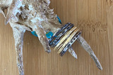 Mixed Metal Stacking Ring Set