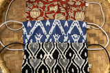 Block Printed Face Mask Set