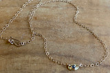 Salt & Pepper Rose Cut Diamond Necklace