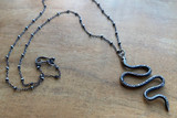 Meander Snake Necklace