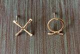 Sweet Talk XO Post Earrings