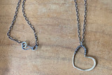 Love Jones Big tangled heart Long Necklace