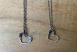 Love Jones Tiny Tangled Heart Necklace