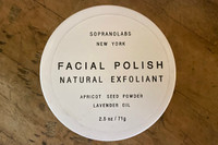 Apricot and Lavender Face Polish