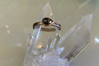 Diamond Anjou Mixed Metal Engagement Ring