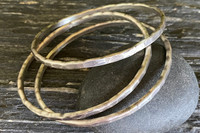 Heavy Hitter Hammered Bangle