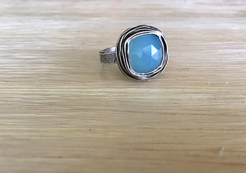 Small Square Nested Ring