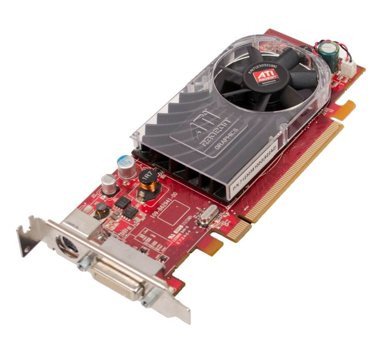 ATI Radeon HD 3450 256MB DDR2 Video Card 109-B62941-00 Y104D DUAL DVI CABLE