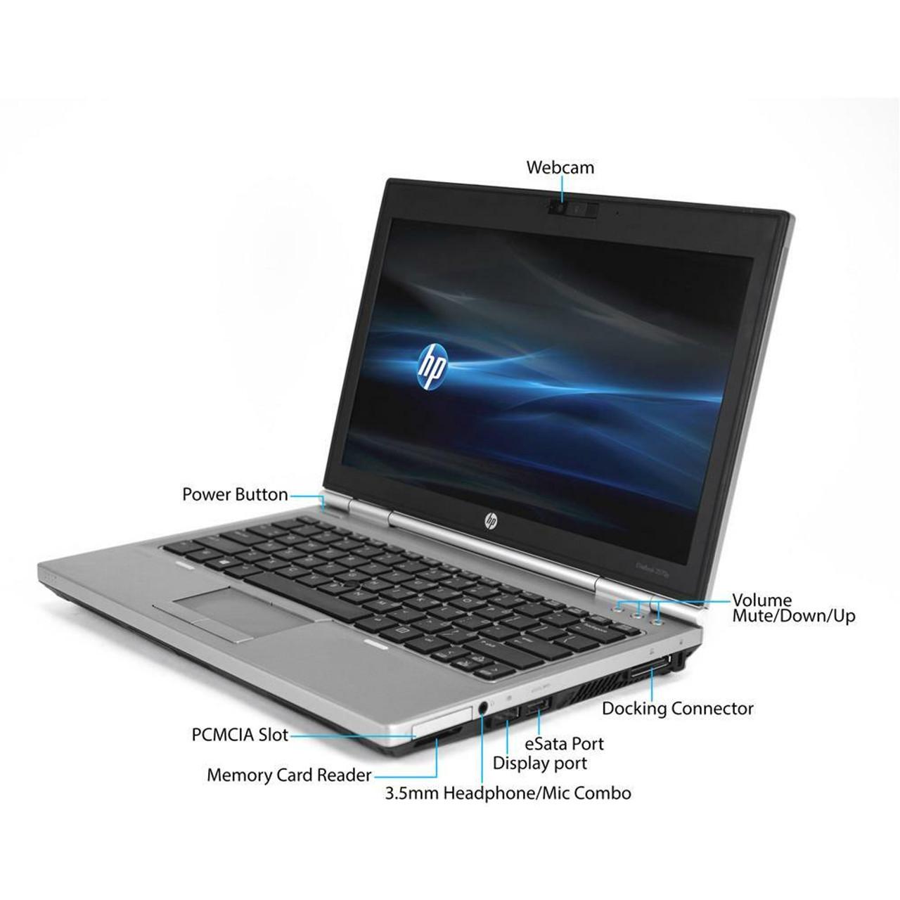 HP Elitebook 2570P Core i7 Windows 7 laptop Thumbnail.