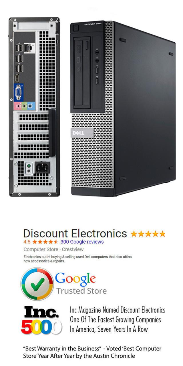 Dell Optiplex 3010 DT Core i3 Windows 7 Ultimate Computer