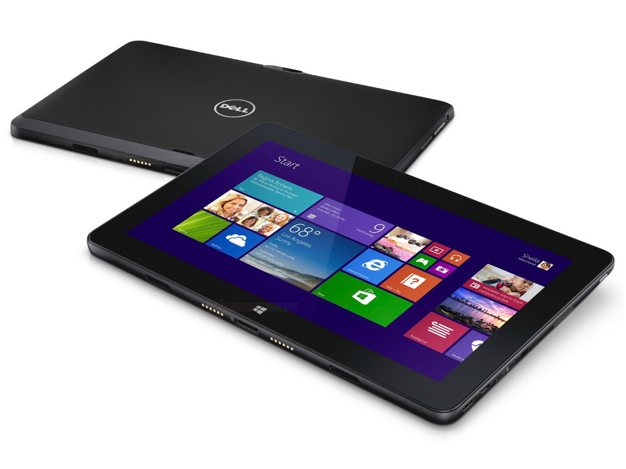 how to install windows 10 from usb on dell tablet