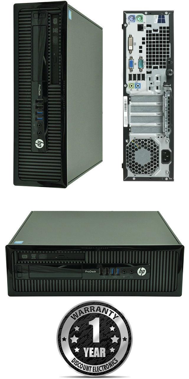 Welp HP ProDesk 400 G1 SFF 4th Gen Core i5 Windows 8 PC FY-24