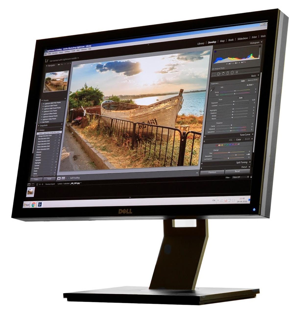 """Dell UltraSharp U2410f w// STAND 24/"""" Widescreen LCD Dell U2410 U2410F"""