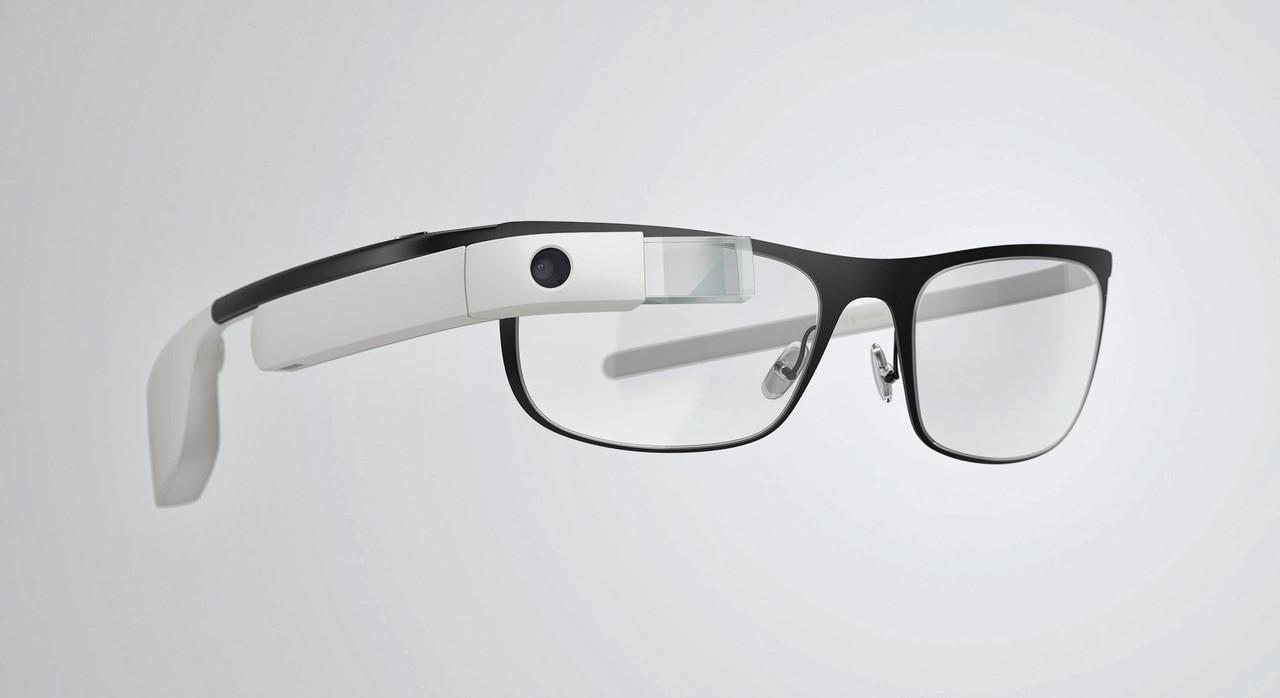 79100e7f5e Google Glass X1-XE22 Thin Cotton White Frame Smart Glasses