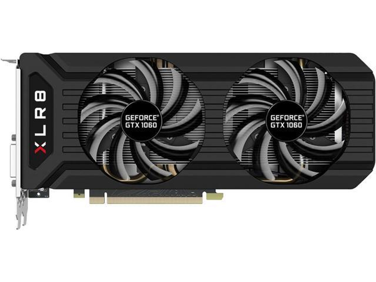 PNY GeForce GTX 1060 6GB GDDR5 VCGGTX10606XGPB-OC2 Video Card