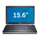 Dell Latitude E6520 i7 Laptop Windows 7 Pro Front View