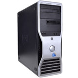 Dell Precision T3500 Tower Windows 7 Pro Computer front view.