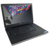 Refurbished LapDell Latitude E6540 i7 Windows 7 Pro Laptoptops left side view.