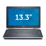 "Dell Latitude E6330 i5 13"" Laptop Windows 7 Pro Front View"