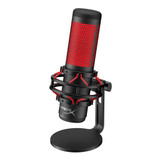 HyperX Quadcast Mic with Boom Stand and Filter Package