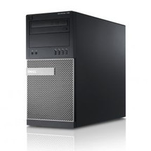 Dell Optiplex 790 Core i5 Tower Computer Windows 7 front view.
