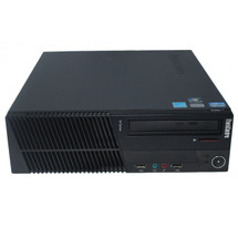 Lenovo Core i7 M91P SFF Windows 7 Pro Computer head on view.