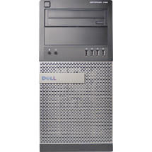 Dell Optiplex 790 i3 Tower Computer Windows 7 front view.