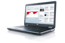 Dell Latitude E6540 i7 Windows 7 Pro Laptop right side view.