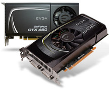 EVGA NVIDIA GeForce GTX 460 1GB Base Clock: 720 MHZ Memory Clock: 3600 MHz CUDA Cores: 336 Bus Type: PCI-E 3.0 Memory Detail: 1028MB GDDR5 Memory Interface: 256 Bit www.discountelectronics.com