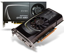 EVGA NVIDIA GeForce GTX 460 1GB Base Clock: 720 MHZ Memory Clock: 3600 MHz CUDA Cores: 336 Bus Type: PCI-E 3.0 Memory Detail: 1028MB GDDR5 Memory Interface: 256 Bit www.discountelectronics.com