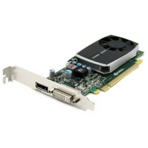 Nvidia Quadro 600 1GB PCIe Dual Monitor Video Card 4J2NX