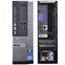 Dell Optiplex 390 SFF Front and Back View