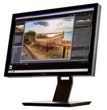 Dell UltraSharp U2410F front view.
