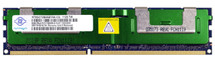 WWW.DISCOUNTELECTRONICS.COM NANYA 8GB 2RX4 PC3-10600R-9-10-E1 Size: 8GB Rank: Dual Rank Speed: 10600 Type: Registered Model: NT8GC72B4NB1NK-CG HP Part Number: 500205-071