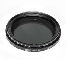 Promaster 37mm HGX Variable ND Camera Lens Filter
