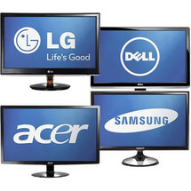 "Cheap Miscellaneous Refurbished 23"" LCD LED Monitors"