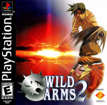 Sony Playstation 1 Wild Arms 2 Video Game
