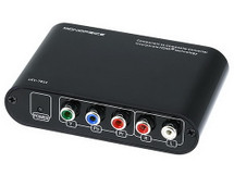 Monoprice Component to Composite S-Video Audio Video Adapter