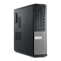 Dell Optiplex 790 Desktop i3 Windows 7 Pro Computer front view.