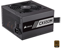 Corsair CX-M Series CX650M 650W Semi Modular Power Supply