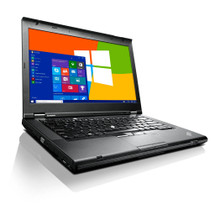 Lenovo ThinkPad T430 front view.