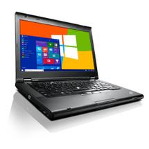 Lenovo ThinkPad T430 front view.