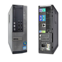Dell Optiplex 990 SFF Front and Back View