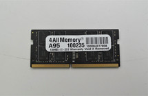 4 All Memory A95 16GB PC4-17000 Single Rank Laptop Memory