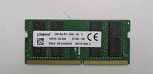 Kingston 16GB PC4-2666V DDR4 Laptop Memory