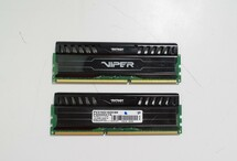 Patriot Viper 16GB (2 x 8GB) 1600MHz DDR3 Memory Kit