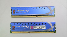 Kingston HyperX 8 GB (2x4 GB Modules) 1600 MHz DDR3