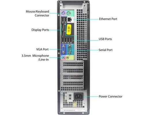 Dell Optiplex 7010 i5 Desktop Computer Windows 7 Pro