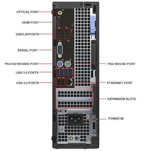 Dell Optiplex 7040 SFF i5-6500 Windows 10 Pro Computer
