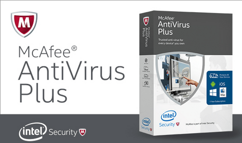 McAfee Antivirus Plus 1-User 2yr